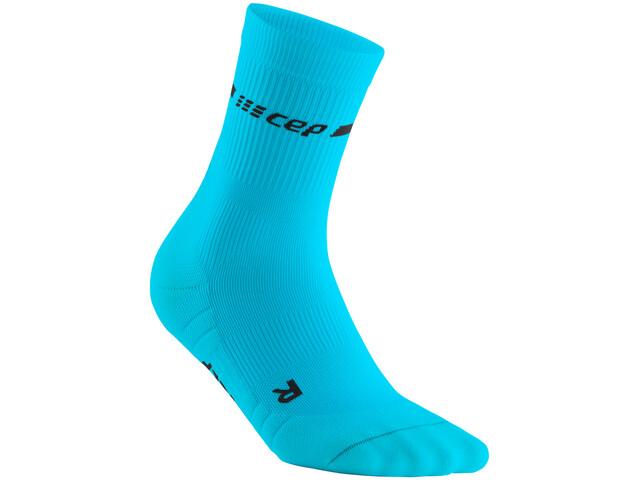 cep Neon Mid-Cut Socks Women, neon blue